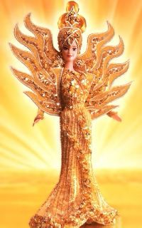 Bob Mackie Goddess of the Sun 1995 Barbi