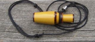 Mini Duck Call Necklace Squirrel Call Necklace Miniature Works