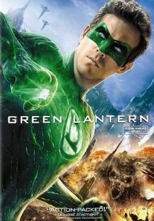 Green Lantern DVD, 2011, Canadian