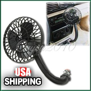 12V Powered Mini Car Truck Vehicle Cooling Cool Air Fan Adsorption
