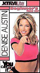 Denise Austin   XtraLite Beginners Tone Up VHS, 2000