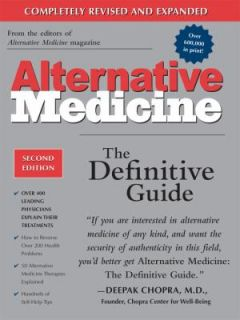 Alternative Medicine The Definitive Guide by John W. Anderson and