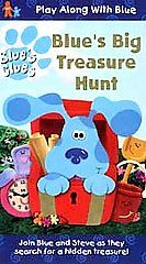 Blues Clues   Blues Big Treasure Hunt VHS, 1999