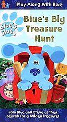 Blues Clues   Blues Big Treasure Hunt VHS, 1999