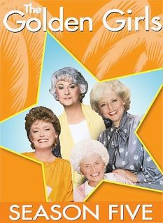 The Golden Girls   The Complete Fifth Season DVD, 2006, 3 Disc Set