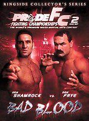 PRIDE Fighting Championships   Bad Blood DVD, 2006, 2 Disc Set