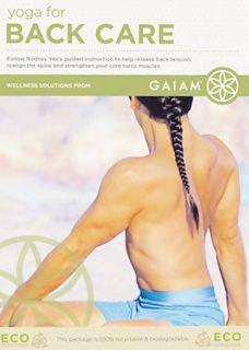 Yoga for Back Care DVD, 2008
