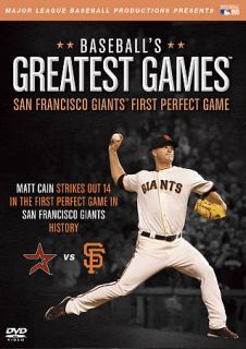 MLB Baseballs Greatest Games   San Francisco Giants First Perfect