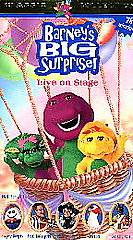 Barney   Barneys Big Surprise (VHS, 2000, Clam Shell) (VHS, 2000)