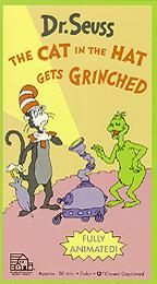 Dr. Seuss   The Cat in the Hat Gets Grinched VHS