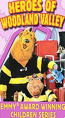 Bear in the Big Blue House   Heroes of Woodland Valley VHS, 2004