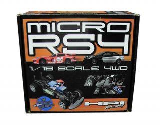 HPI Racing Micro RS4 Radio Controlled Car