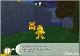 Garfield Lasagna World Tour Sony PlayStation 2, 2008