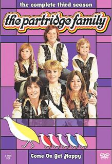 The Partridge Family   The Complete Third Season DVD, 2008, 3 Disc Set