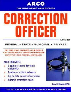 Correction Officer by Gary Maynard 2000, Paperback