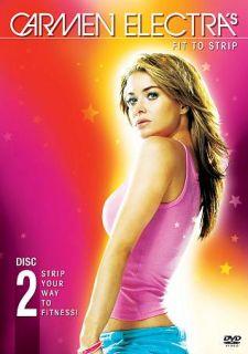 Carmen Electras Fit to Strip DVD, 2004