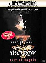 The Crow City of Angels (DVD, 2001, Col