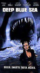 Deep Blue Sea VHS, 1999