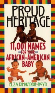 African American Baby by Elza Dinwiddie Boyd 1994, Paperback