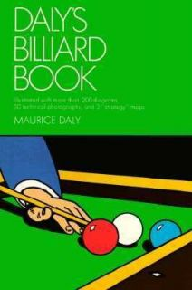 Dalys Billiard Book by Maurice Daly 1988, Paperback
