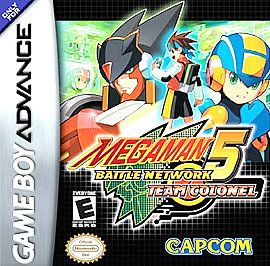 Mega Man Battle Network 5 Team Colonel Nintendo Game Boy Advance, 2005
