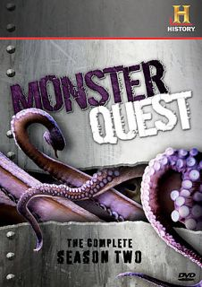 Monsterquest   Complete Season 2 DVD, 2009, 4 Disc Set