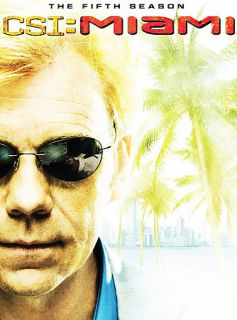 CSI Miami   The Complete Fifth Season DVD, 2007
