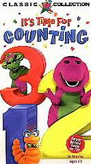 Barney   Its Time For Counting (VHS, 1998) (VHS, 1998)
