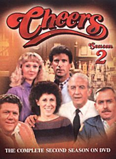 Cheers   The Complete Second Season DVD, 2004, 4 Disc Set