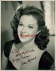 Susan Hayward Autograph Page Academy Award Actress Died 1975