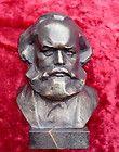 Germany Communist Karl Marx Soviet Russian USSR White Shungite Statue