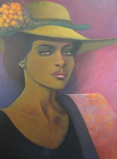 Painting Abstract Figurative Harry Jacques Arijac Latin American Art