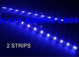 BLUE 5050 SMD LED STRIPS HARLEY DAVIDSON & VW TRIKE ALL MODELS