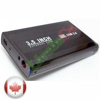 Newly listed USB 2.0 3.5 INCH SATA HARD DRIVE ENCLOSURE CASE BK