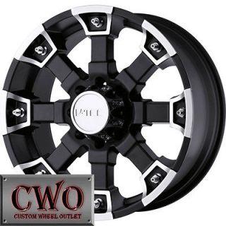20 Black V Tec Brutal Wheels Rims 6x139.7 6 Lug Tahoe Escalade Yukon