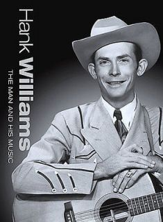 HANK WILLIAMS   THE MAN AND HIS MUSIC   NEW DVD