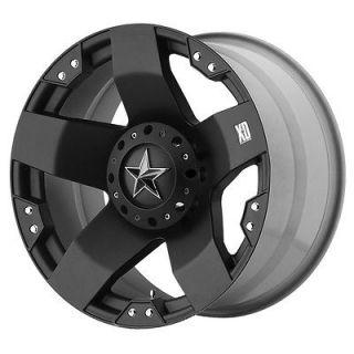 20x10 KMC XD Rockstar Black Wheel/Rim(s) 8x165.1 8 165.1 8x6.5 20 10
