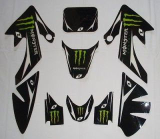 NEW DIRT BIKE 3M GRAPHICS HONDA CRF50 DECAL STICKER 4