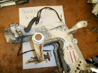 Suzuki 4 stroke 9.9   15 hp outboard engine transom bracket clamp