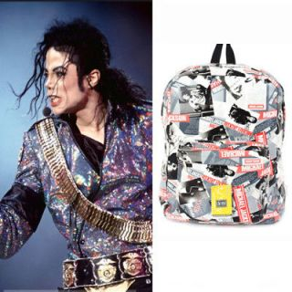 BACKPACK,BOOKB AG,Michael Jackson picture Bag.Large
