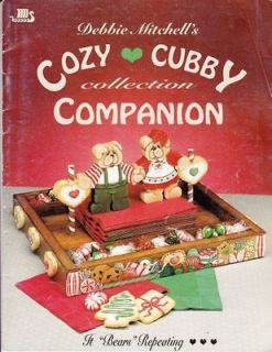 PB Debbie Mitchell Cozy Cubby Collection Companion It Bears