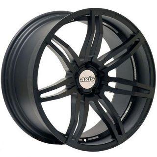 20 AXIS ANGLE Matte Black Wheels Rims Fit BMW E65 E66 (2002 2008