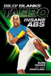 INSANE ABS TAEBO KICKBOXING DVD NEW BILLY BLANKS KICK BOXING WORKOUT
