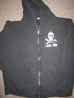 Jeff Dunham Achmed Keel you Hooded Sweater Zip up 2XL Tultex
