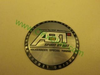 JAPAN ABT RACING Wheel Center Caps Car Decal sticker