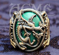 Griffin Ring Jack Sparrow Pirates Carribean Costume Depp ACME Brand
