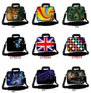 17 17.3 Laptop Sleeve Case Shoulder Strap Bag Cover For Dell