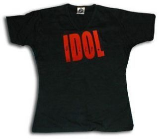 Billy Idol Ladies Fitted T Shirt   All Sizes