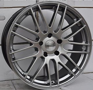 Acura Honda 17x8.0 Hyper Black A Spec TSX RSX TL Wheels Rims