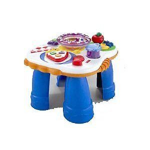 Laugh & Learn Electronic Activity Table With Music And Phrases Toy